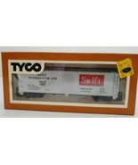 TYCO HO Scale Reefer 40 Foot Swift Car 329A - $23.33