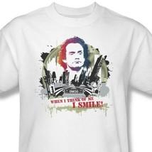 Taxi T-shirt Jim I Smile retro 70's TV classic show 100% cotton white tee CBS445 image 2