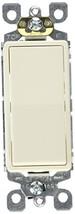 Leviton S16-5601-2TS 15 Amp Light Almond CSA Decorator Single Pole Switch - $4.99