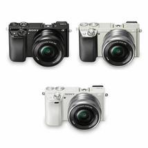 Sony Alpha A6000 Mirrorless Camera 16-50mm Power Zoom Lens Kit Wi-Fi NFC... - $499.00