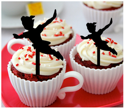 Ca33 Decorations cupcake toppers peter pan Silhouette Package : 10 pcs - $10.00