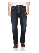 Mens Silver (Indigo) Gordie Straight Jeans Long(32) - $89.00