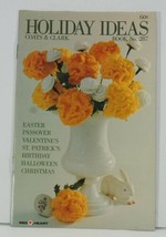 HOLIDAY IDEAS Coats & Clark #287 Christmas Halloween Passover Valentines... - $6.99