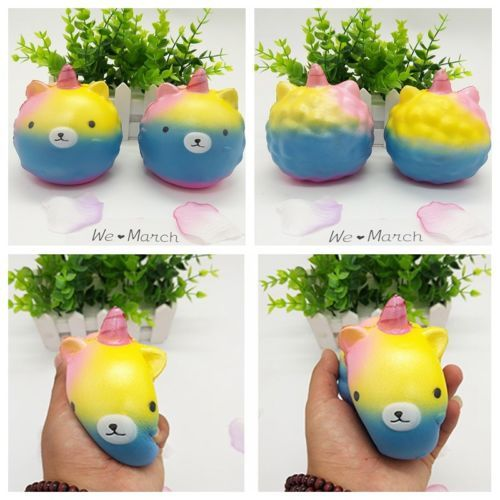 Primary image for Kawaii Panda Unicorn Squishy Slow Rising Soft Squeeze Relax Cake Kid Toy Gift