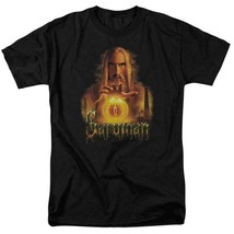 The Lord of the Rings Saruman Dark Lord Middle Earth graphic t-shirt LOR2003 image 1