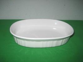 Corning Ware White Oval 475 ml 15 Ounce F-15-B White Casserole Dish - $8.56