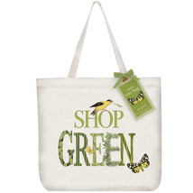 Eco Friendly Canvas Tote Bag By Mary Lake Thompson-Shop Green - $21.50