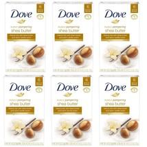 6 x 6 pk Dove Purely Pampering Beauty Bar Shea Butter 4 oz 6 Bar Pack 36... - $47.49