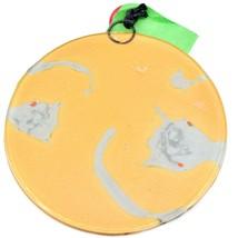Fused Art Glass Waving Lemur Monkey Ornament Handmade in Ecuador image 2