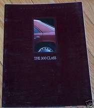 1989 mercedes 300e owners sales brochure w124 e class - $29.99