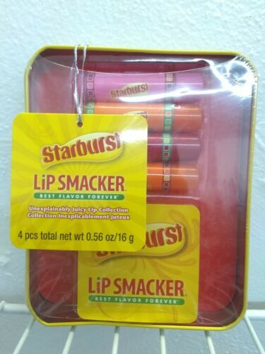 Lip Smacker Lip Balm Forever Starburst Tin 4 Piece Set