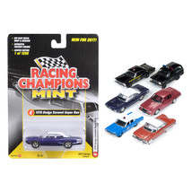 Mint Release 2017 Set C Set of 6 cars 1/64 Diecast Model Cars by Racing Champion - $60.47