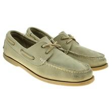 Nunn Bush NXXT Mens Tan Suede Leather Moc Toe Lace-ups Boat Shoes Size 1... - $39.48 CAD
