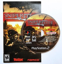 Sniper Elite PS2 Playstation 2 Disc and Manual Tested - $11.99