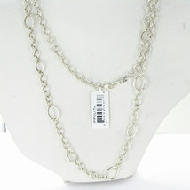 "Ippolita Necklace Glamazon Interlocking Links 40"" Sterling Silver NWT $850 - $669.29"