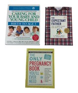Lot of 3 Books The Expectant Father, Caring for Your Baby, Pregnancy Boo... - $15.83