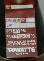 Watts water Pressure Reduing Valve Includes Bypass Stainless Strainer image 4