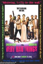 1998 VERY BAD THINGS Peter Berg Jon Favreau Movie Promotional Poster 13x20 - $7.99