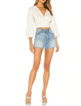 Free People Womens Sophie OB1087680 Wrap Top Ivory XS - $47.51