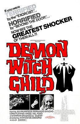 Primary image for Demon Witch Child - 1975 - Movie Poster