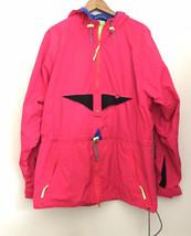 Vtg Helly Hansen Equipe Skiing Snowboard Jacket Size Medium 90s Neon Pink - $59.39