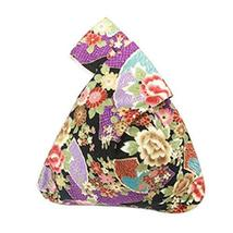 Cotton Bag Wrist-let Handbag Handmade Purse Japanese Style Handbag [Flower]