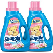 Snuggle Liquid Fabric Softener with Fresh Release, Fresh Spring Flowers, 48 Flui