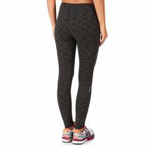 Bench Women's Jet Black Heathered Marl Baddah Leggings Fitness Yoga Pants NWT image 2