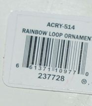 Ganz Crystal Expressions ACRY514 Rainbow Loop Ornament Set of 4 image 6
