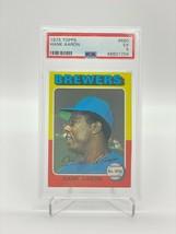 1975 TOPPS HANK AARON #660 PSA 5 EX - $98.01