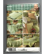 2007/Simplicity Pattern #3695/UNCUT/Table accessories - $4.99
