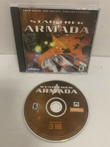 Star Trek Armada PC 2000 RTS REAL TIME STRATEGY GAME Activision Multiplayer - $37.39