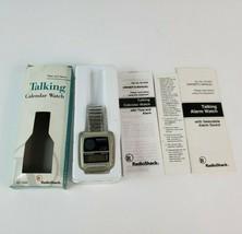 Vintage 1980's Radioshack Talking Calculator WATCH 63-5042A Wristwatch - $69.29