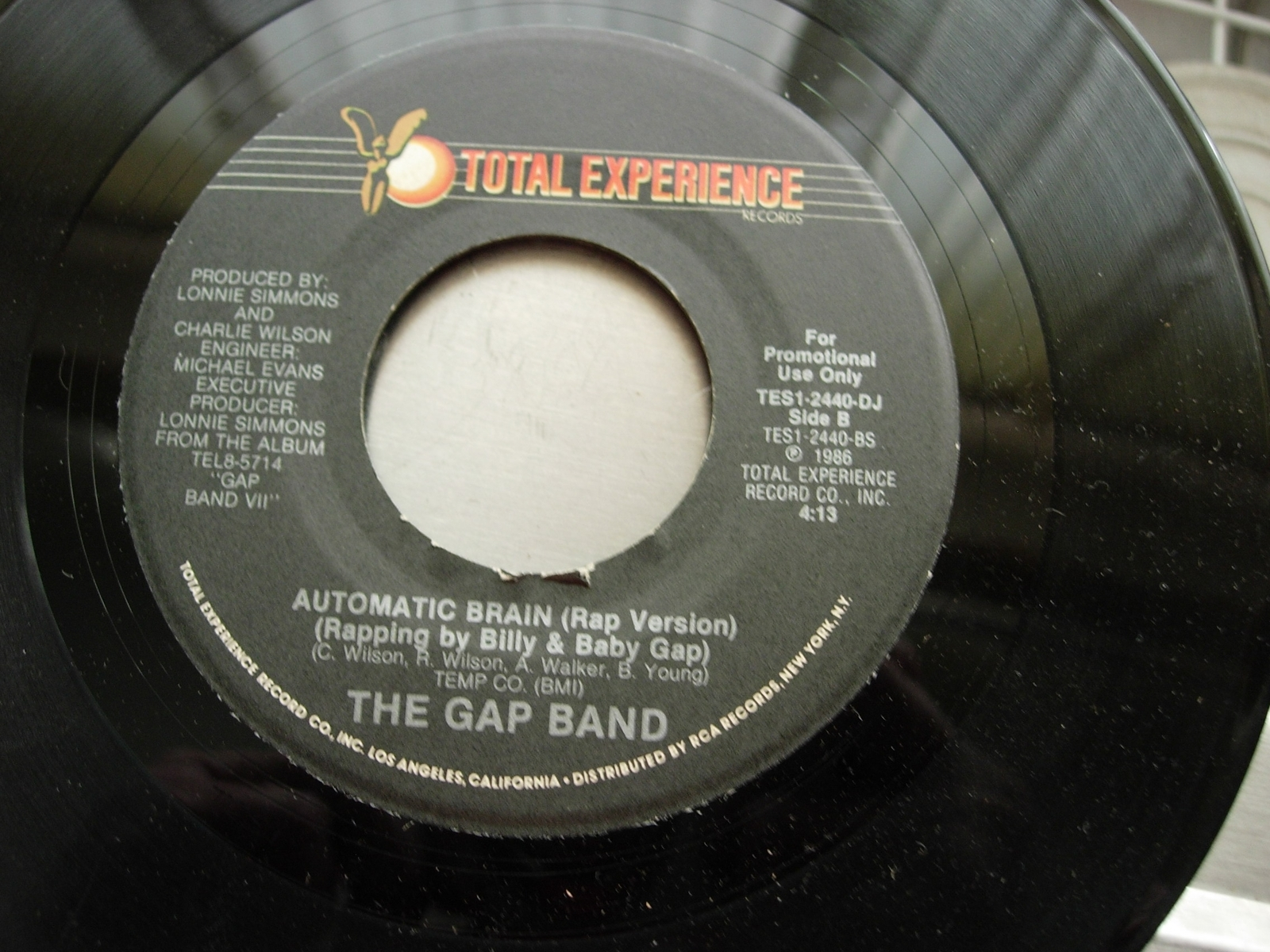 Gap Band - Automatic Brain - Total Experience 2440-DJ