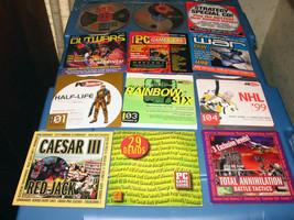 Mostly Demo A Few FULL Versions Game CDs Windows 95, 3.1, Mac - $10.00