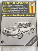 Haynes Repair Manual  Buick Skylark Buick Somerset Olds Achieva Calais Grand Am - $16.42