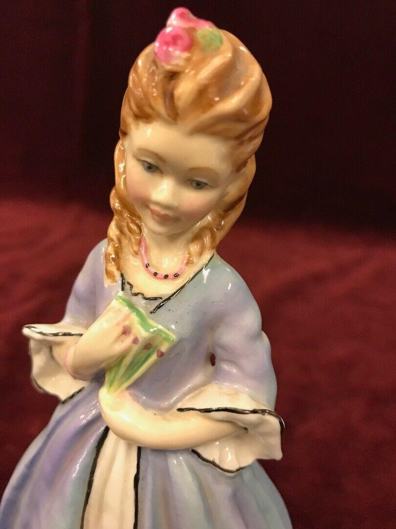 "ROYAL WORCESTER FIGURE ""SWEET ANNE""  RW3630 FREDA DOUGHTY Vintage"