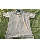 Tommy Hilfiger Men's Size L Light Pink Polo Shirt  - $10.88