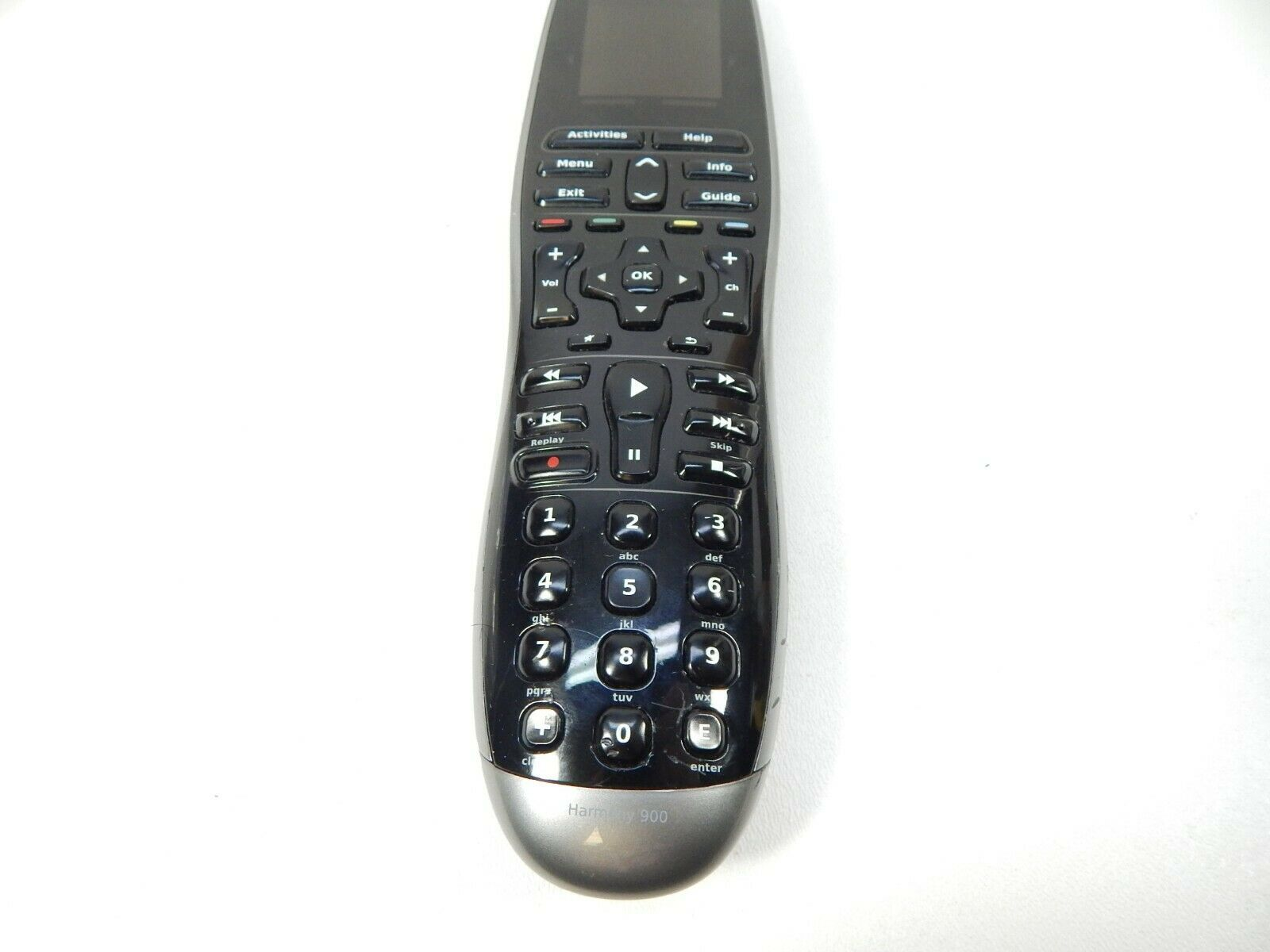 Logitech Harmony 900 Touch Screen Multiple Device Universal Remote Control