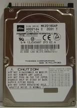 "Lot of 4 Toshiba MK2018GAP HDD2164 20GB 2.5"" IDE Drive Tested Free USA Ship"