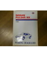 1989 Nissan Pulsar NX Wiring Diagram Service Repair Shop Manual FACTORY ... - $23.75