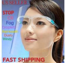 Safety Full Face Shield Reusable Washable Protection Cover Anti-Splash Guard image 1