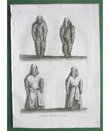 HOLY LAND Human Mandragoras Dressed & Undressed - RARE Antique Print - $8.44