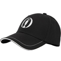 Hugo Boss Men's Adjustable Sport Embroidered Cup Logo Golf Hat Cap Black