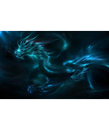 Haunted Queen Dragon power djinn jinn dreams water beauty psychic bythep... - $93.77