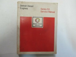 Detroit Diesel Engines Series 53 Service Repair Shop Manual FACTORY OEM *** - $143.54