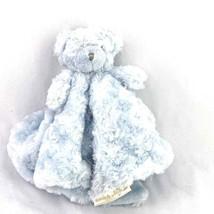 Blankets & Beyond BLUE BEAR LOVEY Security Blanket Blankie Lovie - $18.99