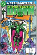 Green Lantern Emerald Dawn II Comic Book #4 DC Comics 1991 VERY FINE+ UN... - $2.50