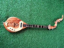 100% Thai Isaan Electric Phin mandolin folk musical instrument, Teak, So... - $183.15