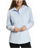 Kirkland Signature Ladies' Wind Resistant Softshell Jacket (3X, Light Blue) - $59.99